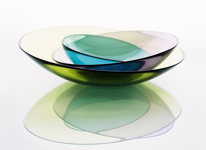 Mingle Crystal Bowls. Design Lena Bergström.