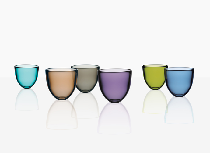 Pastillo crystal bowls. Design Lena Bergström for Orrefors