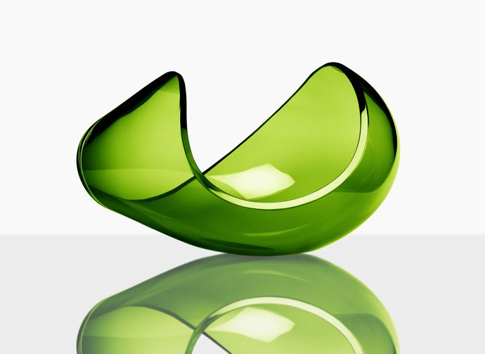 Planets crystal bowls by Lena Bergström Design