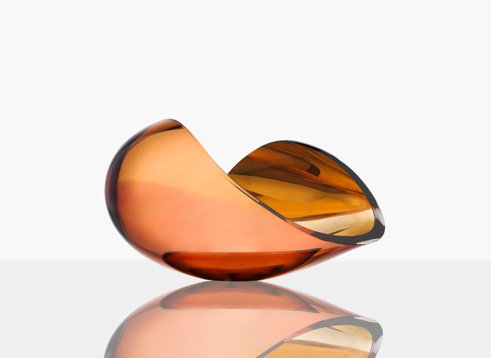 Planet. Limited crystal bowl. Design Lena Bergström. Orrefors 2016.