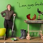 """""""Lena Goes Garden"""" exhibition by Lena Bergström 2012/13."""